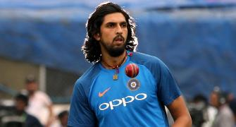 SEE: Ishant Sharma returns to training