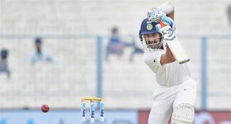 Pujara, third Indian to bat on all 5 days of a Test