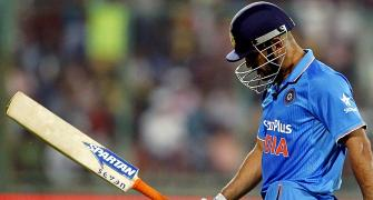 Is Dhoni's innings coming to an end?