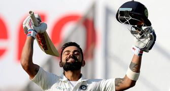 PHOTOS: Kohli hits double ton as India dominate Day 3