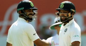 Record man Kohli slams double ton, India on course for big win