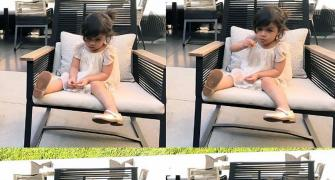 VIDEO: Kohli bonds with Dhoni's daughter