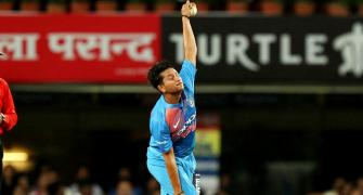 How spin king Warne is helping develop Kuldeep's bowling