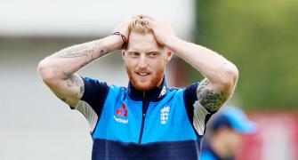 A SPECIAL gift for England's hero Stokes