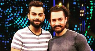 PHOTOS: When Captain Kohli met 'Mr Perfectionist' Aamir