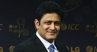 No saliva, get pitch into play: Kumble