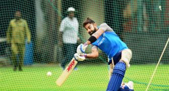 I find nets claustrophobic, says Kohli