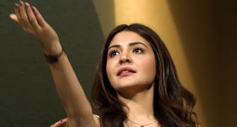 PIX: Anushka Sharma steals the show in RCB-CSK thriller