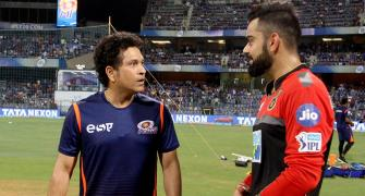 Tendulkar calls Virat Kohli 'one of the greatest'
