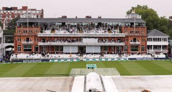 Lord's Test PIX: First day's play called off due to rain