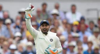 Debutant keeper Pant scripts another special record