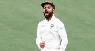 Ponting picks Kohli as captain of his Test team