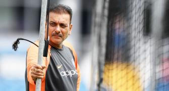 Coach Shastri uses Hindi expletive on air and Twitter goes 'nuts'