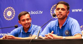 The real test starts now: Dravid on future of Under-19 champs