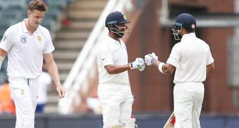 Patient Pujara proud of effort on 'tough' Wanderers pitch