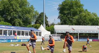India shorten practice match citing 'heatwave' in England