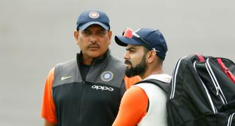 Kohli has strong message for Shastri's trollers