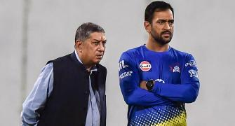 How Srinivasan saved Dhoni from being axed as captain