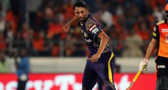 IPL PHOTOS: Clinical KKR outclass Sunrisers to seal play-offs spot