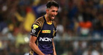 India, KKR pacer Prasidh Krishna is COVID positive