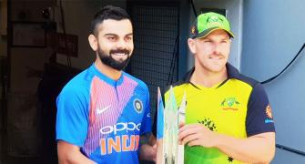 1st T20: Finch-led Aus have task at hand against in-form India