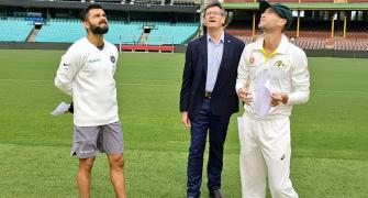 Kohli slammed for wearing shorts at toss in warm-up match
