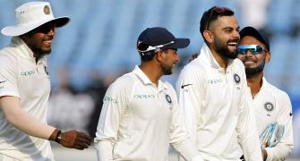 Kohli a win away from equalling Dhoni's record