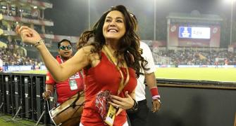 Guess who was Preity Zinta's guest at IPL match