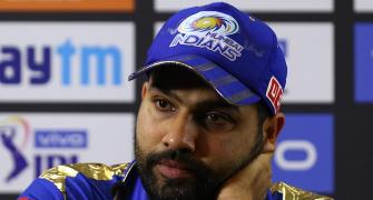 Rohit fined Rs 12 lakh for MI's slow over-rate