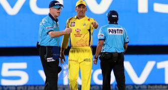 PIX: When 'Captain Cool' lost his cool....