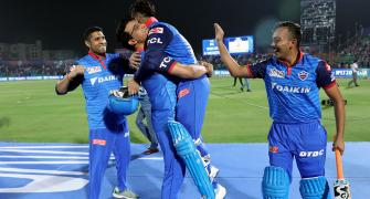 PIX: Pant's 'special' moment with Ganguly