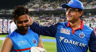 Ganguly defends Pant