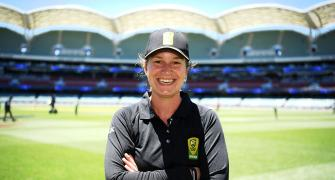 Polosak first woman to officiate men's ODI