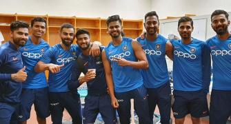 Why is Rohit missing from Kohli's 'squad'?