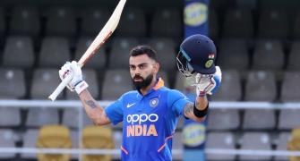 Kohli leads India to series win with 43rd ODI ton