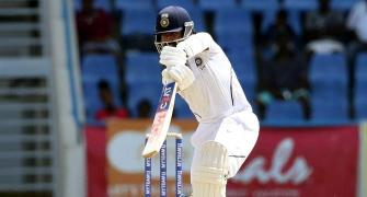 Was thinking about team, not century: Rahane