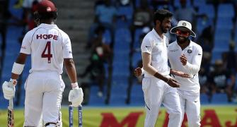 Antigua Test: Lethal Bumrah swings it for India