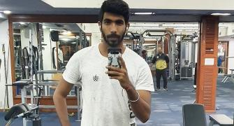 WATCH: Bumrah starts training at MCA