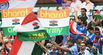 PIX: India fans decorate SCG in tricolour!