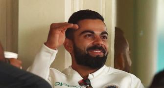 What Kohli, Paine were up to during the rain delay on Day 4