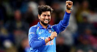 Kuldeep shines as India demolish NZ to take 2-0 lead