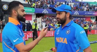Rohit reacts to rift rumours with Kohli
