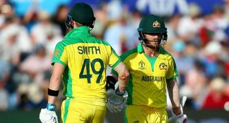 WC PIX: Warner, Finch shine as Aus thrash Afghanistanhttps://www.rediff.com/cricket/report/dk-celebrates-his-34th-birthday-with-team-india-world-cup-icc/20190601.htm