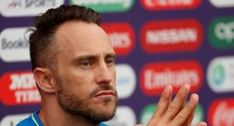 Why Faf du Plessis avoids reading too much news