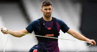 England's Wood on training in bio-secure bubble
