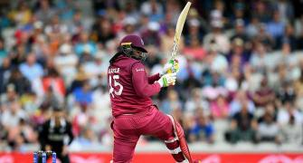 I'm definitely up there with the Windies greats: Gayle