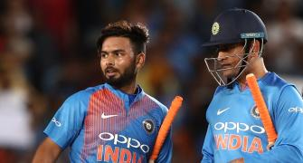 'Pant can't be compared with Dhoni'