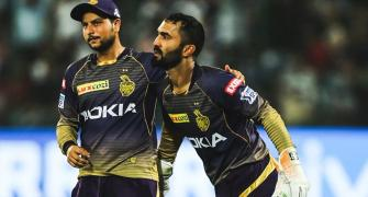 Why KKR skipper is not disheartened after defeat