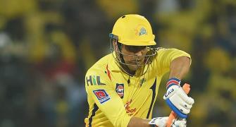 IPL PIX: Dhoni scripts CSK's third win on trot