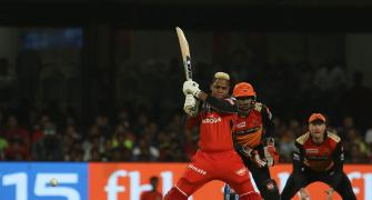 IPL PICS: Hetmyer, Mann power RCB to win over SRH